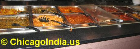 Indian Buffet Counter image © ChicagoIndia.us