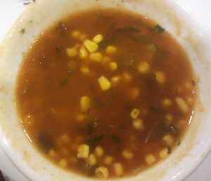 Green Chilli Naperville Sweet Corn Soup