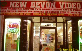 Chicago Hindi DVD Stores