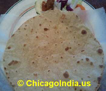 Shree Vegetarian Westmont - Chapati