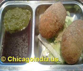 Shree Vegetarian Westmont - Vegetable Cutlet